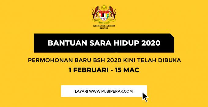 Permohonan Baru Bsh 2020 Kini Telah Dibuka Terkini