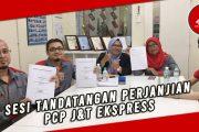 SESI TANDATANGAN PERJANJIAN PCP J&T EKSPRESS