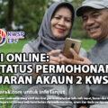 i-LESTARI ONLINE: SEMAK STATUS PERMOHONAN PENGELUARAN AKAUN 2 KWSP
