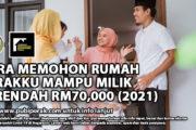 CARA MEMOHON RUMAH PERAKKU MAMPU MILIK SERENDAH RM70,000 (2021)