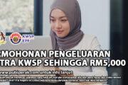 PERMOHONAN PENGELUARAN i-CITRA KWSP SEHINGGA RM5,000