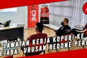 LAWATAN KERJA KOPUBI KE PEJABAT URUSAN REDONE PERAK